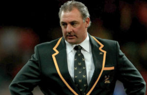 Gary Gold with the Springboks